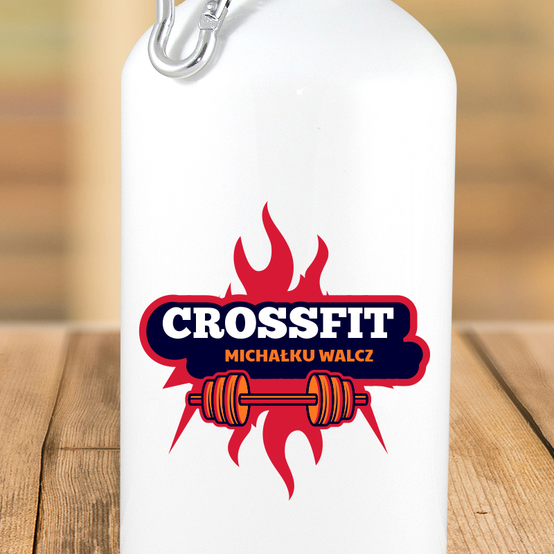 Bidon metalowy crossfit