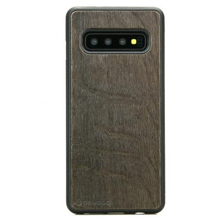 Drewniane Etui Samsung Galaxy S10 DĄB WĘDZONY