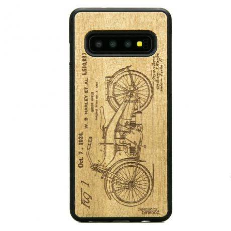 Drewniane Etui Samsung Galaxy S10 HARLEY PATENT ANIEGRE