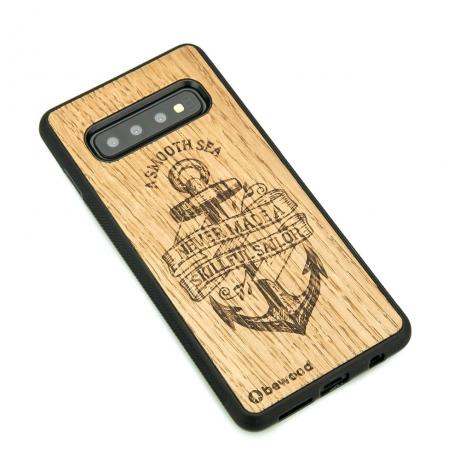 Drewniane Etui Samsung Galaxy S10 KOTWICA DĄB