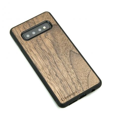 Drewniane Etui Samsung Galaxy S10 ORZECH AMERYKAŃSKI