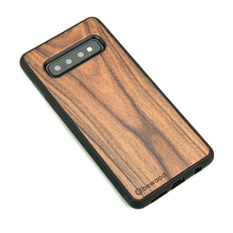 Drewniane Etui Samsung Galaxy S10 PALISANDER SANTOS