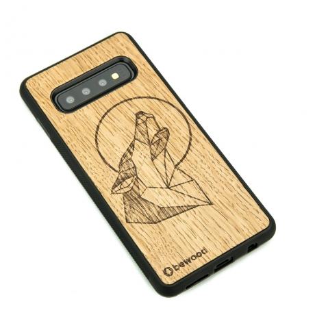 Drewniane Etui Samsung Galaxy S10 WILK DĄB