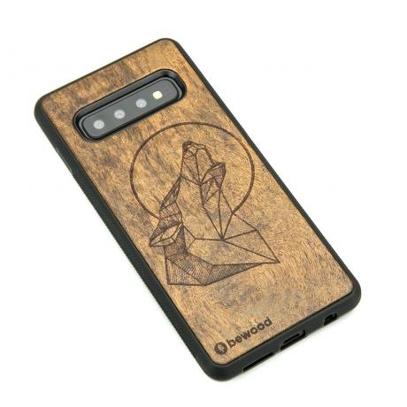 Drewniane Etui Samsung Galaxy S10 WILK IMBUIA