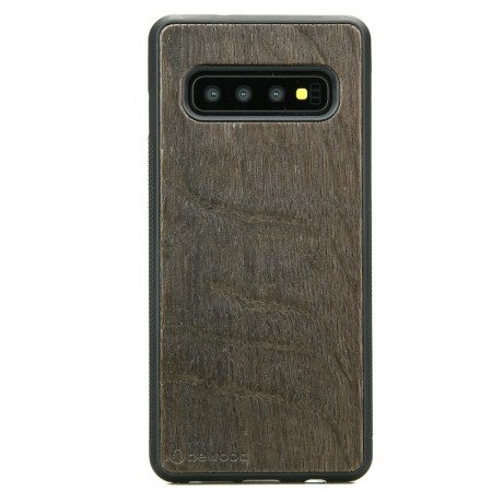 Drewniane Etui Samsung Galaxy S10+ DĄB WĘDZONY