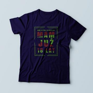 Koszulka na urodziny dla chłopaka (solenizanta)