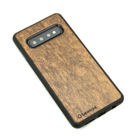 Drewniane Etui Samsung Galaxy S10+ IMBUIA