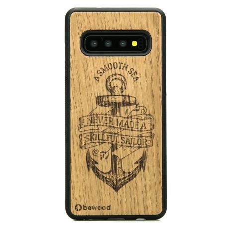 Drewniane Etui Samsung Galaxy S10+ KOTWICA DĄB