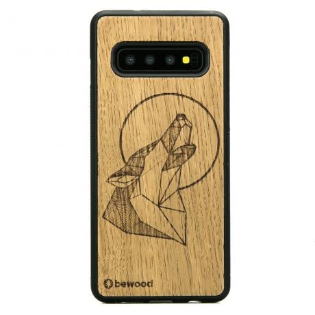Drewniane Etui Samsung Galaxy S10+ WILK DĄB