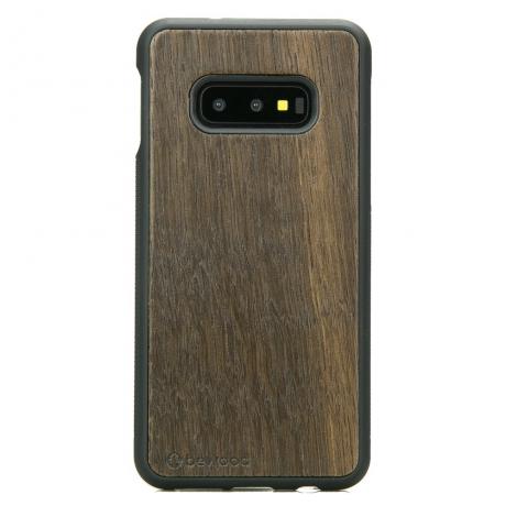 Drewniane Etui Samsung Galaxy S10e DĄB WĘDZONY
