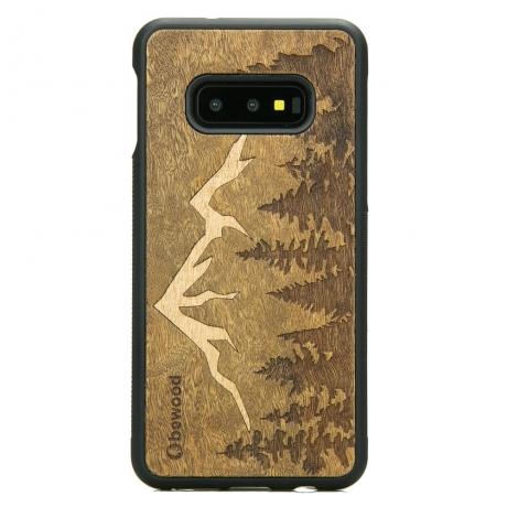 Drewniane Etui Samsung Galaxy S10e GÓRY IMBUIA
