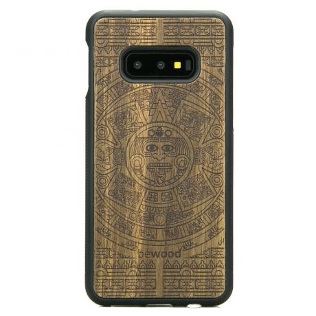 Drewniane Etui Samsung Galaxy S10e KALENDARZ AZTECKI LIMBA