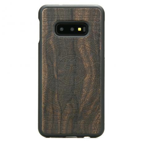 Drewniane Etui Samsung Galaxy S10e KALENDARZ AZTECKI ZIRICOTTE