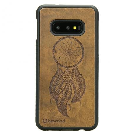 Drewniane Etui Samsung Galaxy S10e ŁAPACZ SNÓW IMBUIA