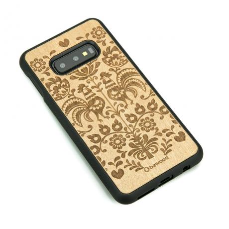 Drewniane Etui Samsung Galaxy S10e POLSKI FOLK ANIEGRE