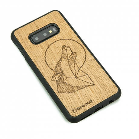 Drewniane Etui Samsung Galaxy S10e WILK DĄB