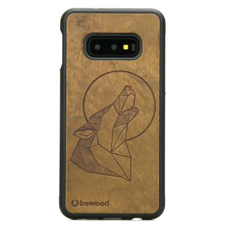 Drewniane Etui Samsung Galaxy S10e WILK IMBUIA