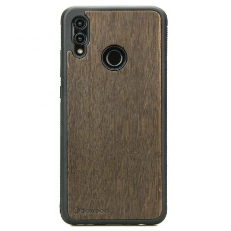 Drewniane Etui Huawei P Smart 2019 DĄB WĘDZONY