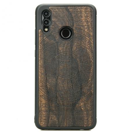 Drewniane Etui Huawei P Smart 2019 KALENDARZ AZTECKI ZIRICOTTE