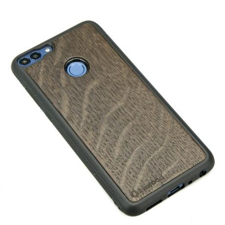 Drewniane Etui Huawei P Smart DĄB WĘDZONY