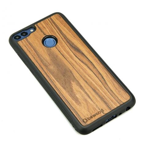 Drewniane Etui Huawei P Smart OLIWKA