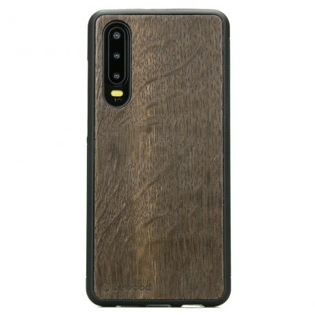 Drewniane Etui Huawei P30 DĄB WĘDZONY