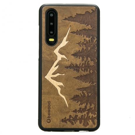 Drewniane Etui Huawei P30 GÓRY IMBUIA