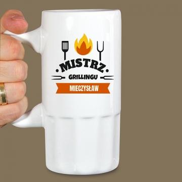 Kufel na piwo dla mistrza grilla