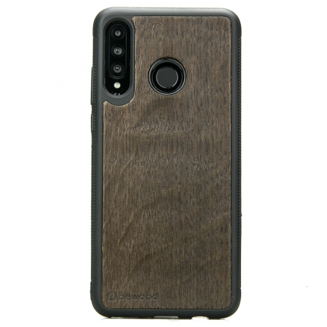 Drewniane Etui Huawei P30 Lite DĄB WĘDZONY