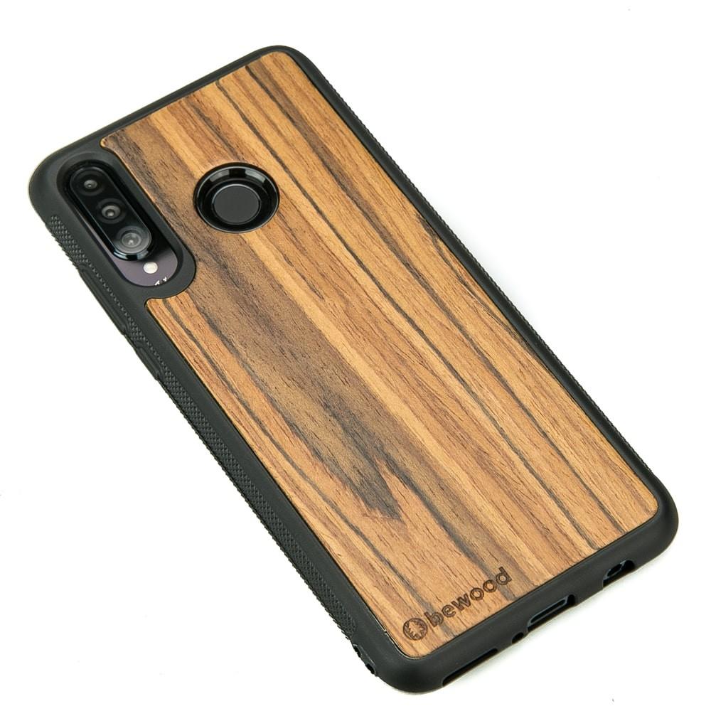 Drewniane Etui Huawei P30 Lite OLIWKA