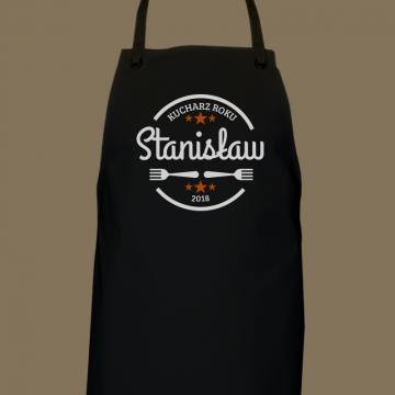 Fartuch dla kucharza z nadrukiem (personalizowany)