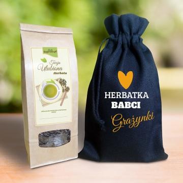 Herbata dla babci w woreczku personalizowanym