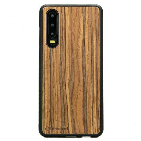 Drewniane Etui Huawei P30 OLIWKA