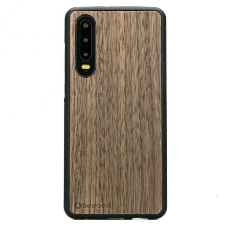 Drewniane Etui Huawei P30 ORZECH AMERYKAŃSKI