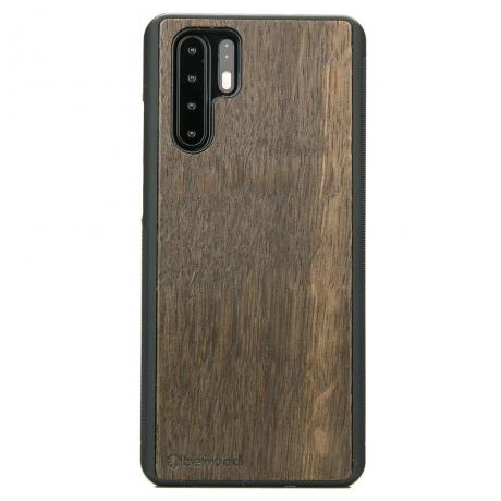 Drewniane Etui Huawei P30 Pro DĄB WĘDZONY