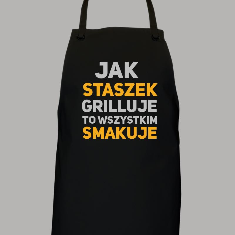 Fartuch do grilla z imieniem (personalizowany)