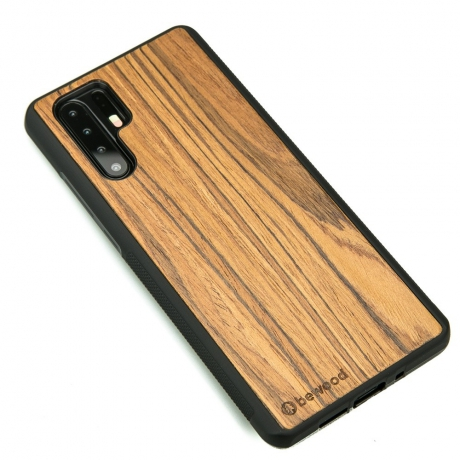 Drewniane Etui Huawei P30 Pro OLIWKA