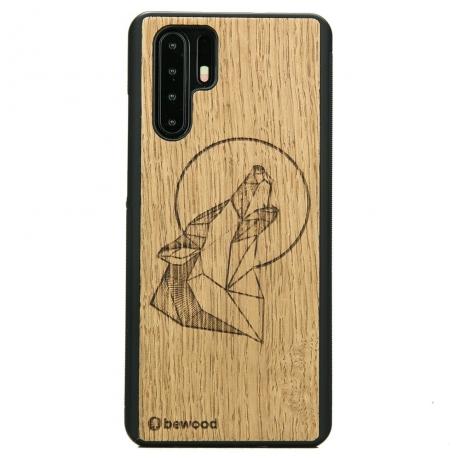 Drewniane Etui Huawei P30 Pro WILK DĄB