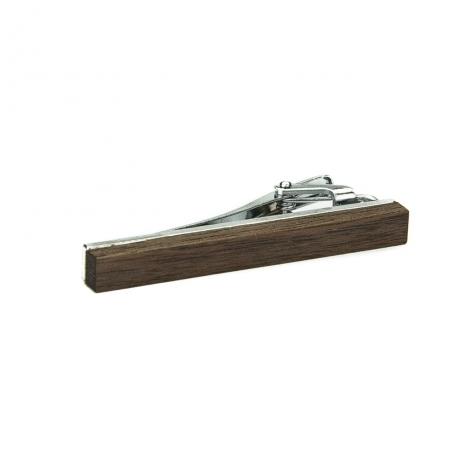 Drewniana spinka do krawata Orzech amerykański