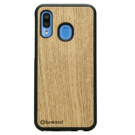 Drewniane Etui Samsung Galaxy A40 DĄB