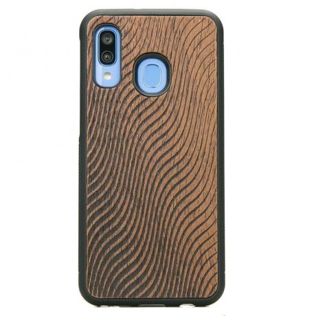 Drewniane Etui Samsung Galaxy A40 FALE MERBAU