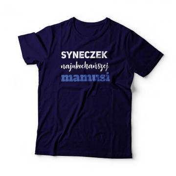 Koszulka dla chłopca - Syneczek najukochańszej mamusi