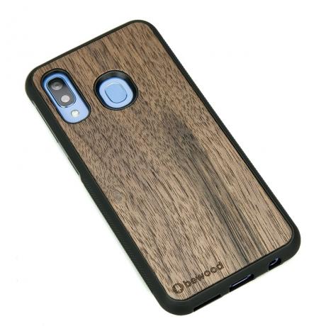 Drewniane Etui Samsung Galaxy A40 ORZECH AMERYKAŃSKI