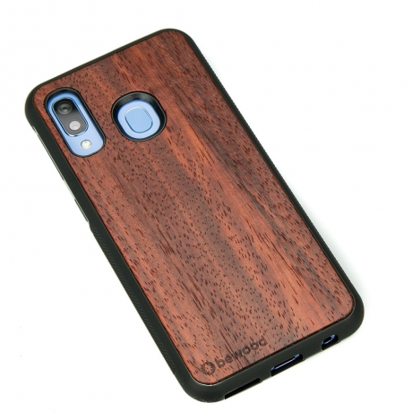 Drewniane Etui Samsung Galaxy A40 PADOUK