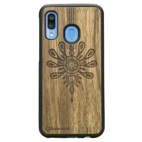Drewniane Etui Samsung Galaxy A40 PARZENICA LIMBA