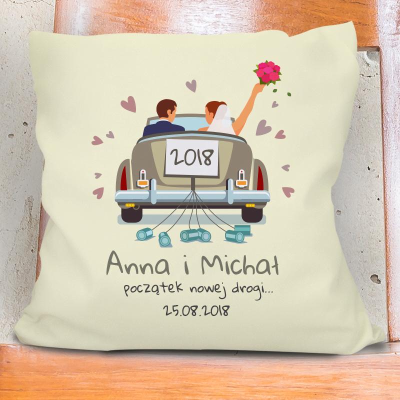 Poduszka dla nowożeńców