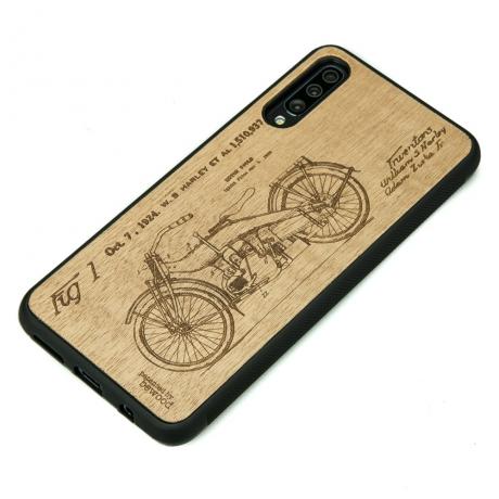 Drewniane Etui Samsung Galaxy A50 HARLEY PATENT ANIEGRE