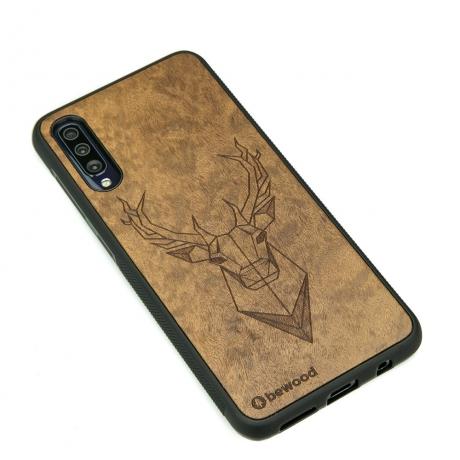 Drewniane Etui Samsung Galaxy A50 JELEŃ IMBUIA