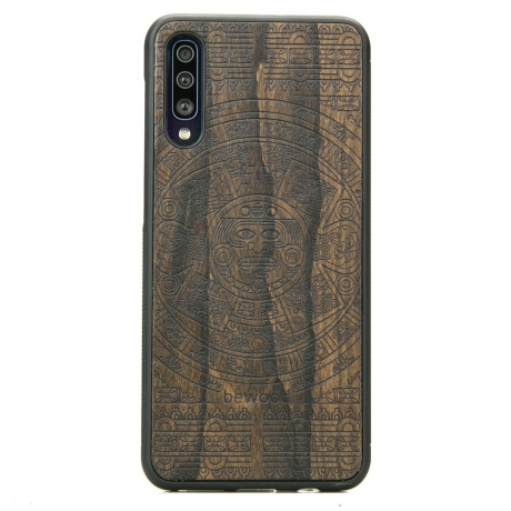 Drewniane Etui Samsung Galaxy A50 KALENDARZ AZTECKI ZIRICOTTE