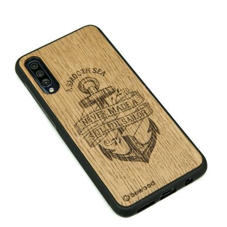 Drewniane Etui Samsung Galaxy A50 KOTWICA DĄB